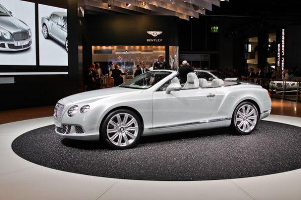Bentley показал открытую версию второго поколения купе Continental GT