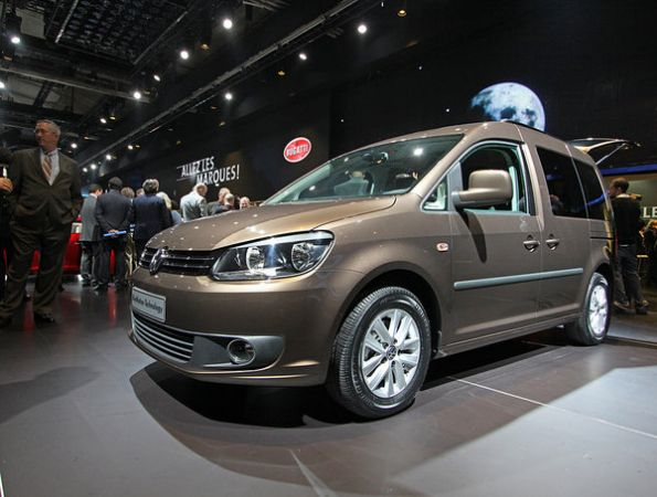 Новая генерация Volkswagen Caddy показана в Париже
