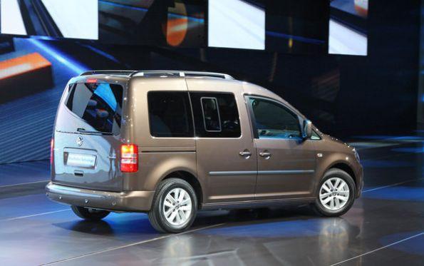 Новая генерация Volkswagen Caddy показана в Париже